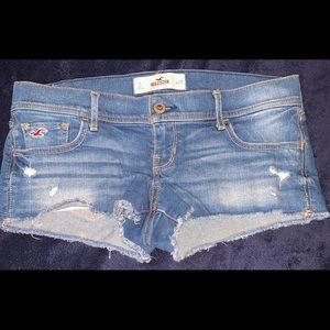 Hollister Jean Shorts Size 9 29 euc